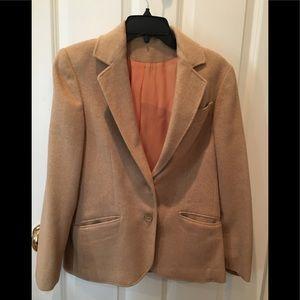 Vintage cashmere tweed jacket